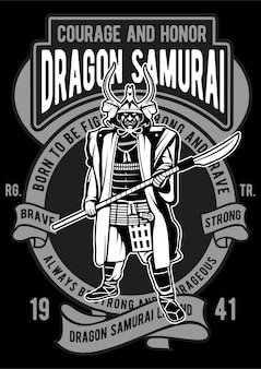 Dragon samurai