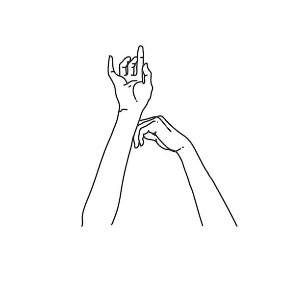 Disegno delle mani