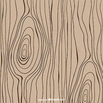 Disegnato texture di legno