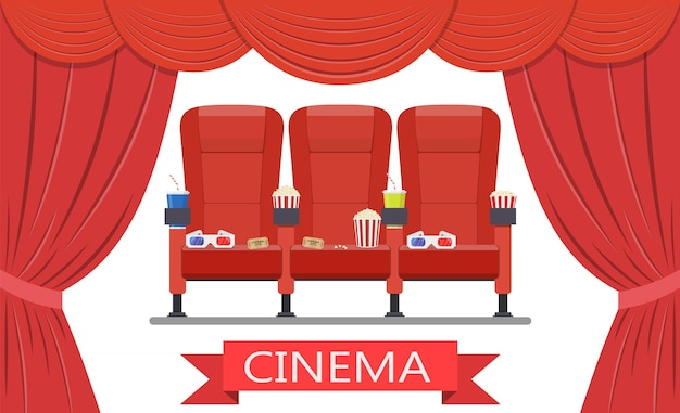 Bevande e popcorn, bicchieri per film