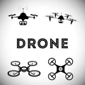 Concetto di drone