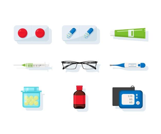 Set assortimento di farmacie
