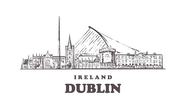 Paesaggio urbano di dubai, irlanda