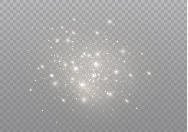 Le scintille di polvere e le stelle dorate brillano di una luce speciale.