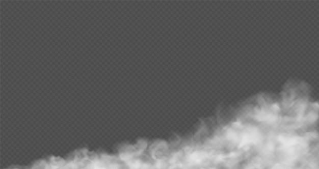 Nuvola polverosa di nebbia, smog urbano della polvere di strada.
