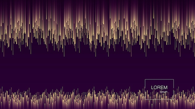 Linee dinamiche flusso luminoso astratto