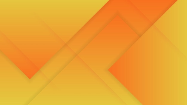Arancione fluido dinamico geometrico con sfondo sfumato colorato