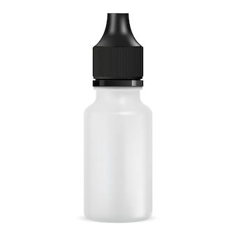 E bottiglia di succo. barattolo contagocce. tubo
