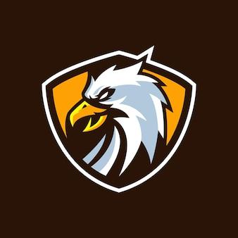 Modelli di logo eagle esports