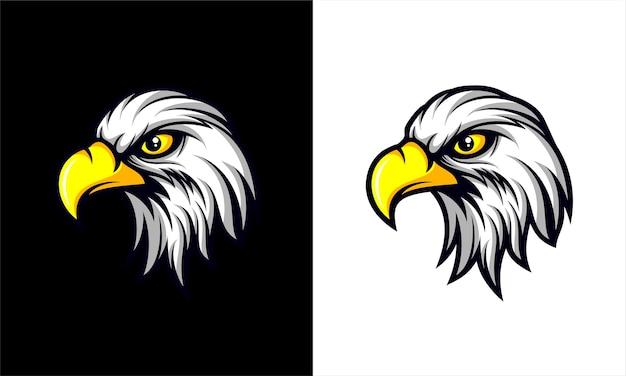 Logo della testa dell'aquila