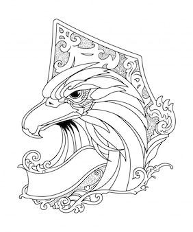 Illustrazione di aquila
