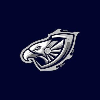 Design del logo dell'aquila