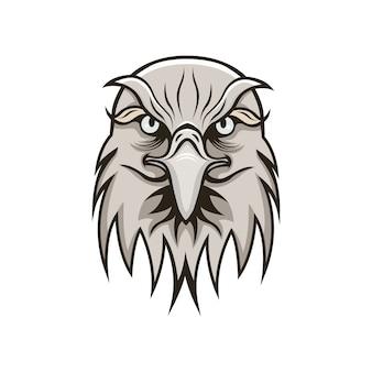 Aquila logo mascotte design sportivo
