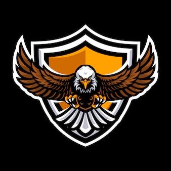 Logo eagle per una squadra sportiva