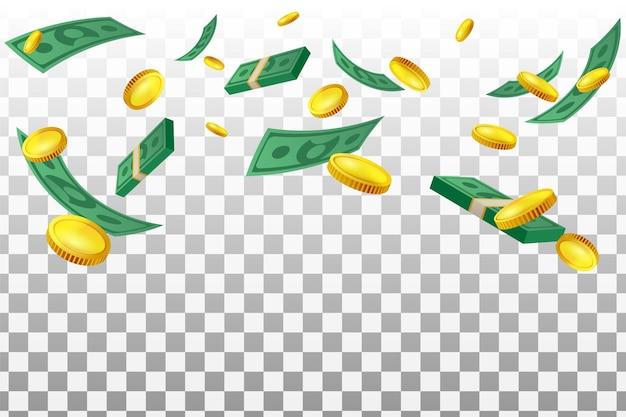 Guadagna sfondo aumenta gli investimenti finanziari