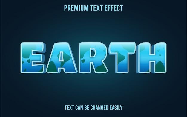 Effetto testo terrestre