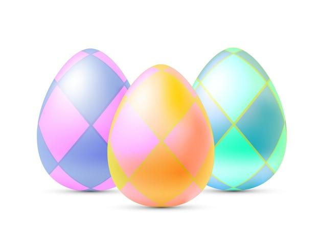Uova di pasqua isolate