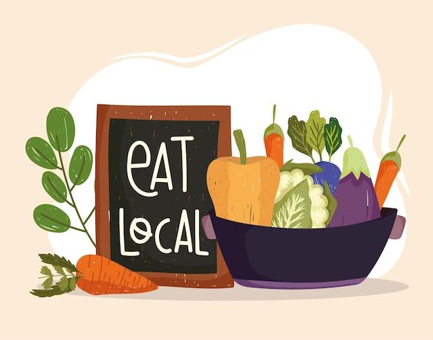 Mangia verdure locali