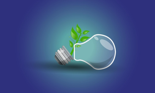 Icone piane di energia ecologica cambiamento climatico design rinnovabile
