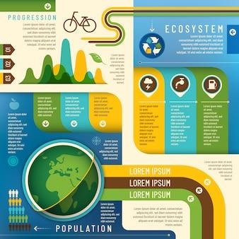 Grafica informazioni ecologia