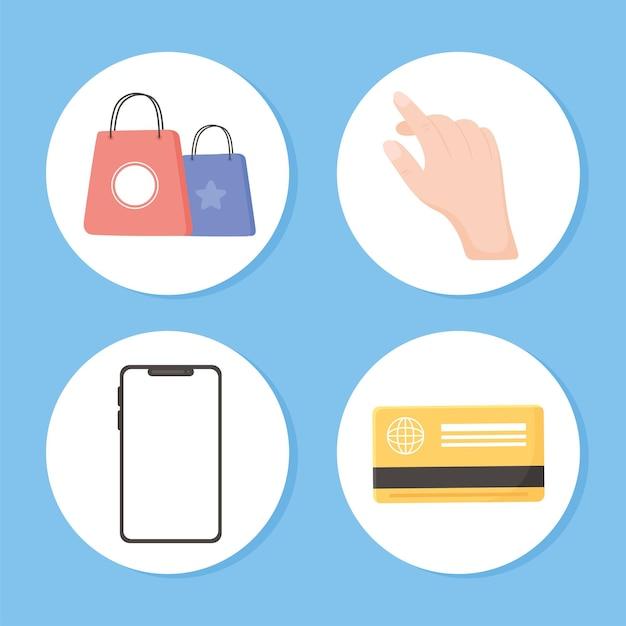 Set di acquisto e-commerce