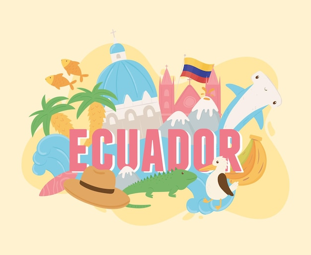 Banner pubblicitario ecuador