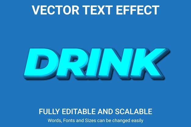 Effetto di testo modificabile - stile di testo grande vendita