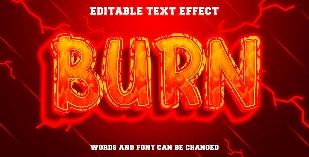 Stile di masterizzazione effetto testo modificabile