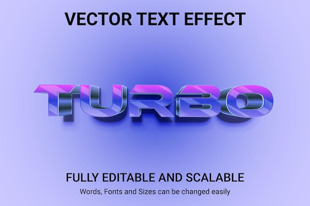 Effetto di testo modificabile - stile di testo cartoon