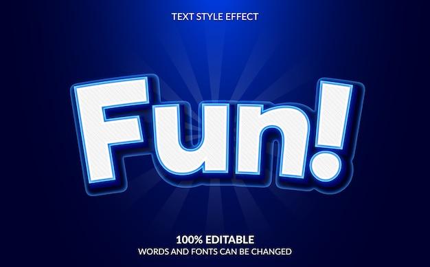 Effetto di testo modificabile, stile di testo comico e cartone animato