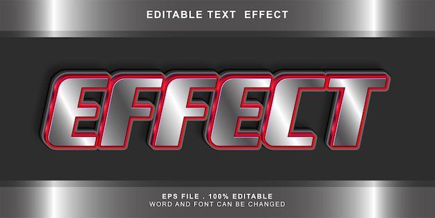 Effetto effetto testo modificabile