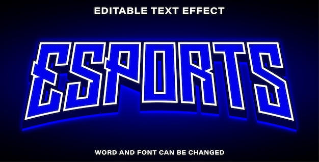 Esportazioni con effetti di testo modificabili