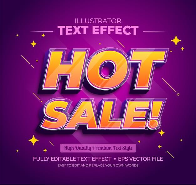 Effetto testo modificabile - effetto testo vendita calda