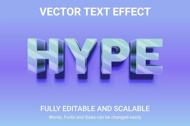 Effetto di testo modificabile - stile di testo juice lazy