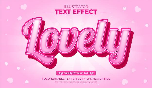 Effetto di testo modificabile - effetto di testo incantevole