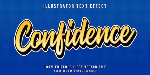 Effetto di testo modificabile - stile calligrafico minimo