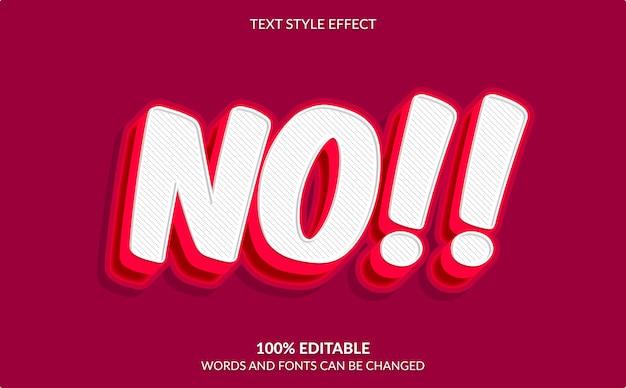 Effetto testo modificabile, pop art, stile di testo comico