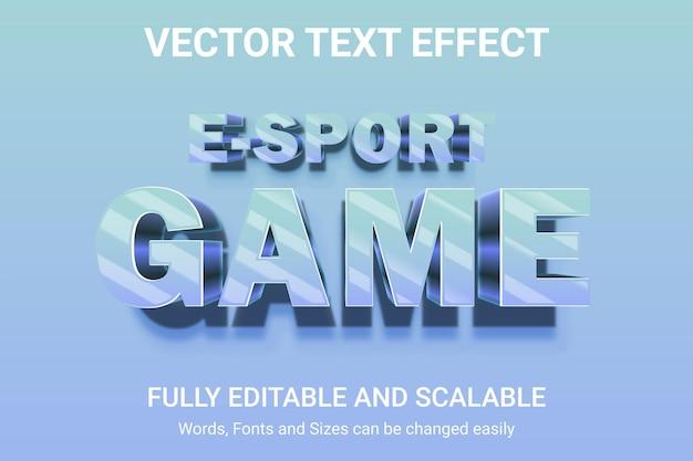 Effetto di testo modificabile - stile di testo thumbnail