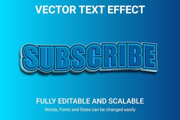 Effetto di testo modificabile - stile di testo vittoria