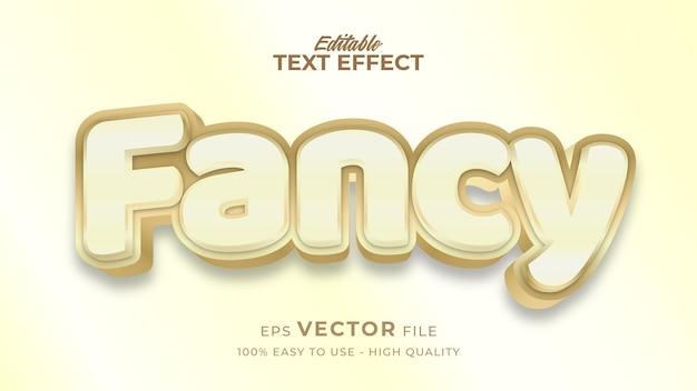 Effetto stile testo modificabile - tema fantasia stile testo comico