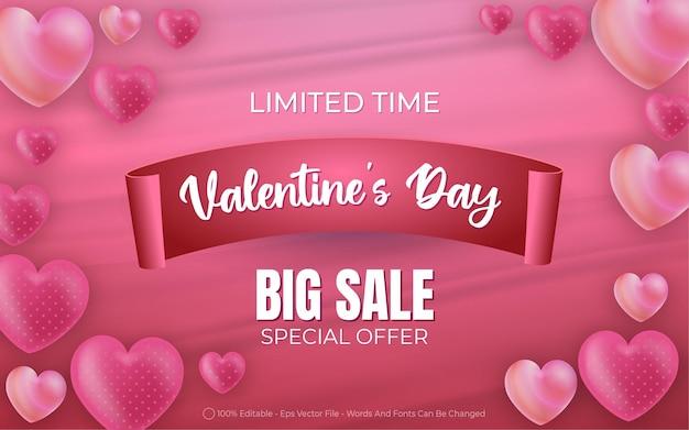 Grande vendita di san valentino modificabile