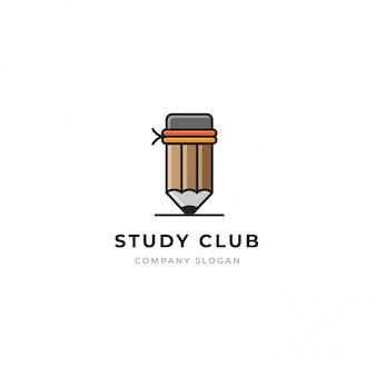 Modello di logo di educazione.