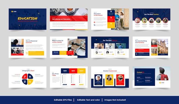 Design della presentazione dell'istruzione