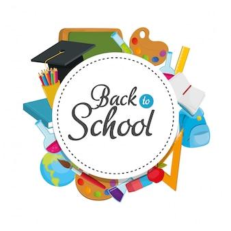 Forniture per l'istruzione e ritorno alla conoscenza della scuola