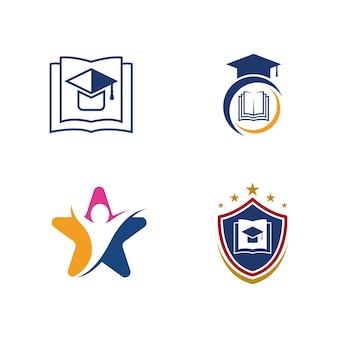 Progettazione dell'illustrazione dell'icona di vettore del modello di istruzione