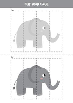 Puzzle logico educativo per bambini in età prescolare