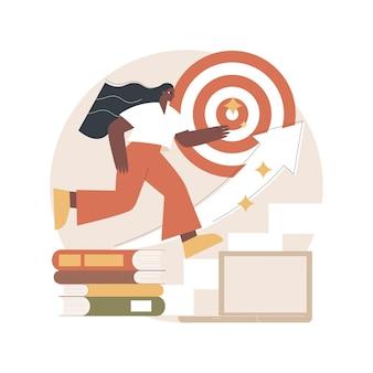 Illustrazione della traiettoria educativa