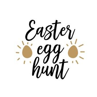 Lettere di caccia alle uova con un nuovo simbolo di vita