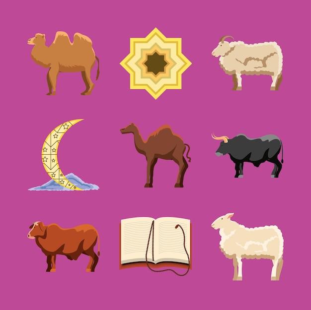 Icone di eid al adha