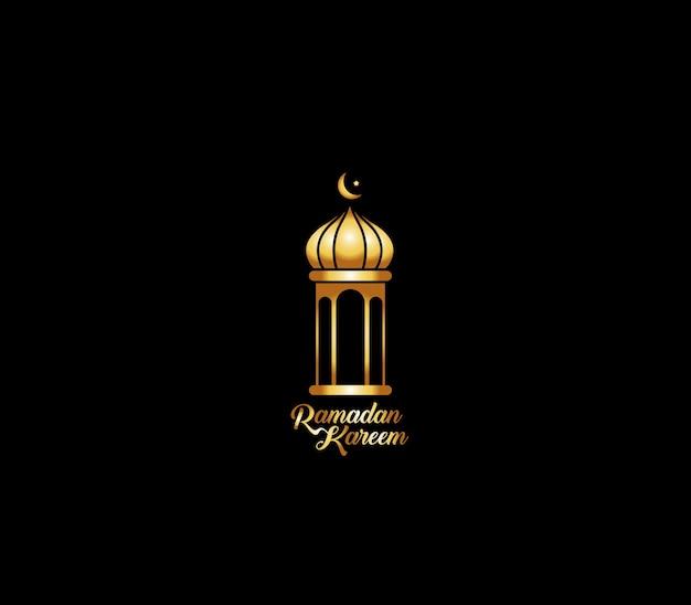 Celebrazione di eid mubarak - moschea. illustrazione vettoriale.